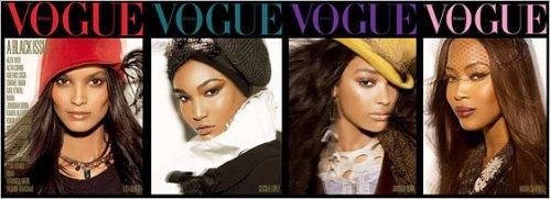 Las cuatro portadas de Black is beautiful
