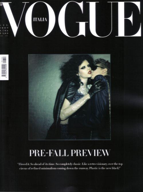 La última portada de Vogue Italia